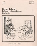 Bulletin of the Rhode Island Library Association v.53, no. 6