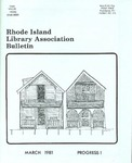 Bulletin of the Rhode Island Library Association v. 53, no. 7 by RILA