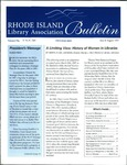Bulletin of the Rhode Island Library Association v. 70, no. 7-8