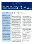 Bulletin of the Rhode Island Library Association v. 70, no. 9-10 by RILA