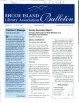 Bulletin of the Rhode Island Library Association v. 70, no. 11-12 by RILA