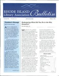 Bulletin of the Rhode Island Library Association v. 71, no. 1-3