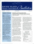 Bulletin of the Rhode Island Library Association v. 71, no. 4-6 by RILA