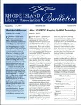 Bulletin of the Rhode Island Library Association v. 71, no. 7-9