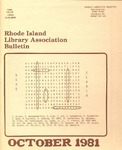 Bulletin of the Rhode Island Library Association v. 54, no. 2