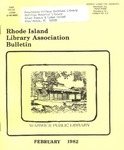 Bulletin of the Rhode Island Library Association v. 54, no. 6