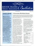 Bulletin of the Rhode Island Library Association v. 72, no. 1-3 by RILA