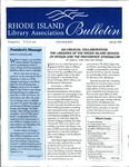 Bulletin of the Rhode Island Library Association v. 72, no. 4-6