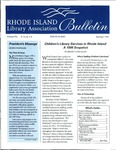 Bulletin of the Rhode Island Library Association v. 72, no. 7-9