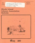 Bulletin of the Rhode Island Library Association v. 54, no. 9