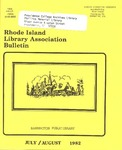 Bulletin of the Rhode Island Library Association v. 54, no. 11