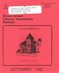 Bulletin of the Rhode Island Library Association v. 55, no. 1