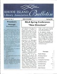 Bulletin of the Rhode Island Library Association v. 74, no. 2 by RILA