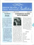 Bulletin of the Rhode Island Library Association v. 74, no. 3