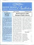 Bulletin of the Rhode Island Library Association v. 75, no. 2