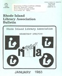 Bulletin of the Rhode Island Library Association v. 55, no. 5