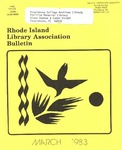 Bulletin of the Rhode Island Library Association v. 55, no. 7