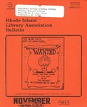 Bulletin of the Rhode Island Library Association v. 56, no. 3