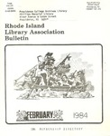 Bulletin of the Rhode Island Library Association v. 56, no. 6