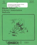 Bulletin of the Rhode Island Library Association v. 56, no. 7 by RILA