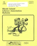 Bulletin of the Rhode Island Library Association v. 56, no. 8