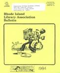 Bulletin of the Rhode Island Library Association v. 56, no. 8 by RILA