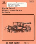 Bulletin of the Rhode Island Library Association v. 56, no. 11/12