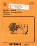 Bulletin of the Rhode Island Library Association v. 56, no. 14 by RILA