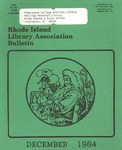 Bulletin of the Rhode Island Library Association v. 56, no. 15