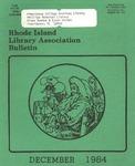 Bulletin of the Rhode Island Library Association v. 56, no. 15 by RILA