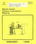 Bulletin of the Rhode Island Library Association v. 57, no. 1