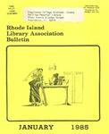 Bulletin of the Rhode Island Library Association v. 57, no. 1 by RILA