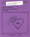 Bulletin of the Rhode Island Library Association v. 57, no. 2