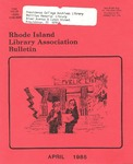 Bulletin of the Rhode Island Library Association v. 57, no. 4