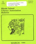 Bulletin of the Rhode Island Library Association v. 57, no. 3