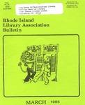 Bulletin of the Rhode Island Library Association v. 57, no. 3 by RILA