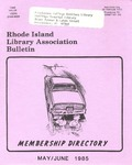 Bulletin of the Rhode Island Library Association v. 57, no. 5