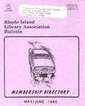Bulletin of the Rhode Island Library Association v. 57, no. 5 by RILA