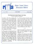 Bulletin of the Rhode Island Library Association v. 58, no. 1 by RILA