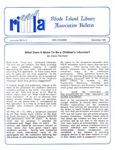 Bulletin of the Rhode Island Library Association v. 58, no. 2 by RILA