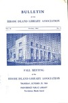 Bulletin of the Rhode Island Library Association v. 36, no. 2