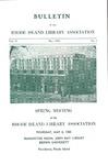 Bulletin of the Rhode Island Library Association v. 37, no. 1