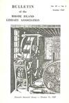 Bulletin of the Rhode Island Library Association v. 39, no. 2