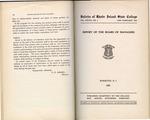 Annual Report 1933