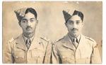 Lt. E. C. Joshua (right) by Annu Palakunnathu Matthew